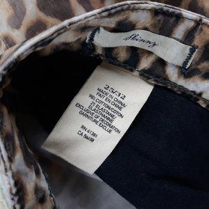 Ralph Lauren Jeans - Ralph Lauren Denim Supply 25 Animal Skinny Jeans